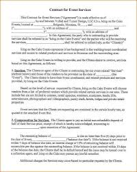 wedding planning contract templates 12 event planner contract academic resume template