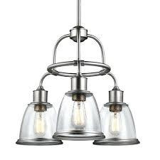 seeded glass chandelier satin nickel three light inch wide chandelier with clear seeded glass rustic seeded