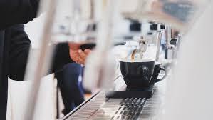 sample bar concept coffee in alam sutera