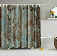 old wood door design shower curtain waterproof polyester fabric bathroom curtain at banggood sold out