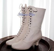70 best bridal shoes images on pinterest bridal shoes, shoes and Victorian Wedding Boots For Sale victorian shoes in off white leather wedding shoes ivory victorian boots bride shoes in off white Victorian Ladies Boots