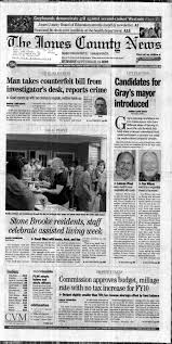 The Jones County News September 24, 2009: Page 1