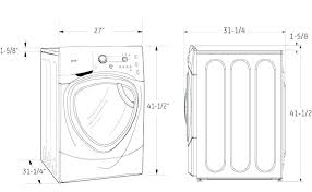 washer dryer dimensions. Delighful Dryer Standard Washer And Dryer Dimensions Width Dryers  Front Load   Intended Washer Dryer Dimensions W