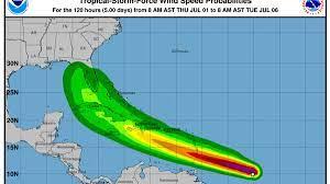 Tropical Storm Elsa already a record ...