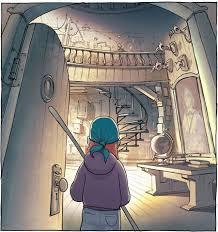 kazu kibuishi amulet the stonekeeper