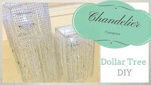 dollar tree chandelier centerpiece diy weddings parties