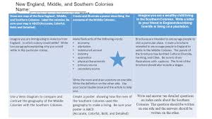 New England Middle And Southern Colonies Comparison Chart Venn Diagram New England Middle Southern Colonies Bismi