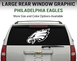 philadelphia eagles window decal graphic sticker car truck suv choose size ebay