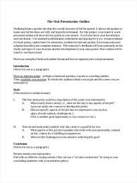 Free 37 Outline Examples Samples In Doc Pages Examples