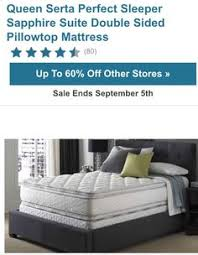 double sided pillow top mattress. Serta Double Sided Pillow Top Mattress E