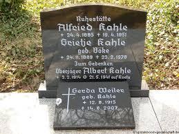 Grab von Albert Kahle (03.02.1914-21.05.1941), Friedhof Emden ...