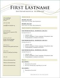 Free Professional Resume Templates Simple Top Ten Resume Templates Putasgae