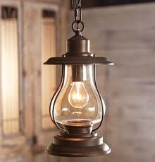 Rustic Lantern Light Weathered Patina Lantern Pendant Light Lantern Pendant