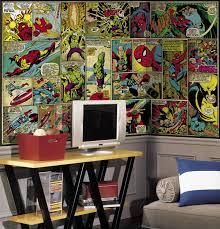 comic book furniture. Marvel Classics Comic Panel XL Wallpaper Mural 10.5\u0027 X 6\u0027 Book Furniture S