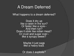 essay langston hughes dream deferred waiter busboy resume essay langston hughes dream deferred