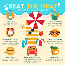 Its Hot Outside Tips From The Bedford Board Of Health For