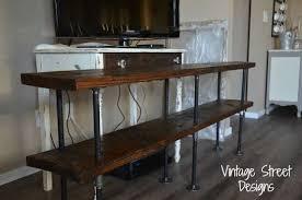 diy metal furniture. Diy Metal Pipe Entertainment Center, Diy, Painted Furniture, Repurposing Upcycling Furniture