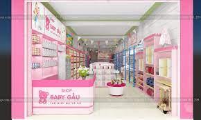 Thiết Kế Shop Mẹ Và Bé Baby Gấu - Anh Hợp - Nghệ An