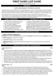 Resume Templates For Customer Service Amazing Top Customer Service Resume Templates Samples