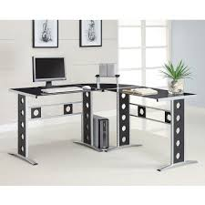 coaster contemporary computer desk  walmartcom