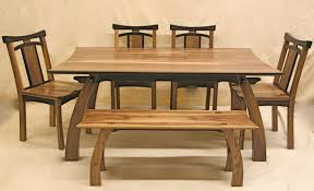 rustic anese low teak wood dining table great room design inspirations with furniture cly rectangular wooden chairs added single benches as decorate
