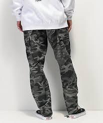 Rothco Bdu Tactical Black Camo Cargo Pants