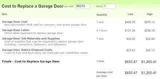phoenix garage door installation a r services with regard to how much do doors cost plan 15