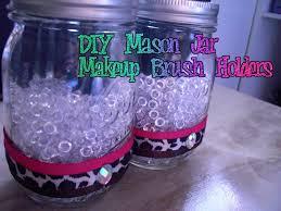 mason jar makeup brush holder. mason jar makeup brush holder c