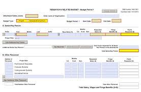 Budget Forms Pdf Form Screenshots