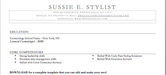 Sample Resume For Hairstylist. Assistant Hair Stylist Assistant Hair ...