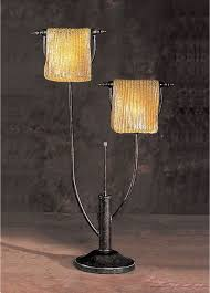 Anthony California Metal Table Lamp with 2 Lights traditional-bedroom