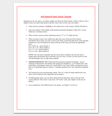 Apa Word Doc Research Paper Outline Apa Format 7 Examples And Samples