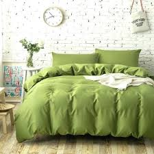 dark green duvet green quilt sets cotton plain solid color bedding sets army green duvet covers
