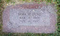 Irma Aurelia Heath Duke (1901-1995) - Find A Grave Memorial