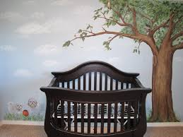 nursery room tree mural