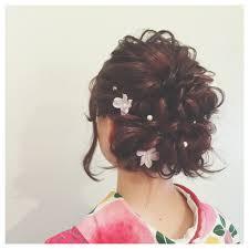 振袖に合う髪型は華やかアレンジでいつもとは違う特別感 Arine