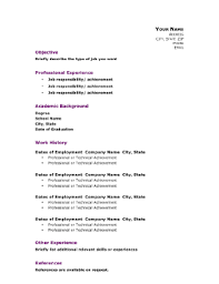Professional Academic Resume A4 Template