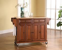 furniture wood. crosley furniture alexandria stainless steel top kitchen island in classic cherry finish $399.00 wood