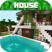 How to build a small modern house tutorial + interior (#19). Modern House For Minecraft Pe Apps On Google Play