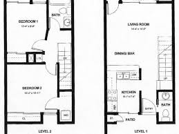 2 Story Apartment Floor Plans