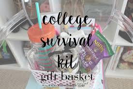 college survival kit gift basket