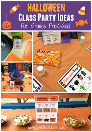 Looking for ideas for your child's class Halloween party? Check out these  fun activities that