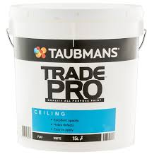 ceiling white paintTaubmans Trade Pro 15L White Flat Interior Ceiling Paint