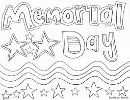 Small Picture Memorial Day Coloring Pages Doodle Art Alley