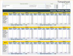 Time Log Template Excel | My Spreadsheet Templates