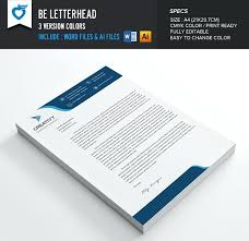 Sample Letterhead Template Doc Business – Custosathletics.co