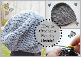 Hipster Beanie Crochet Pattern Best How To Crochet A Cute Slouchy Beanie Ms Craft Nerd YouTube