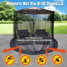 patio umbrella set screen house