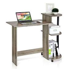 Office desk with drawers Right Hand Corner Compact The Home Depot Desks Home Office Furniture The Home Depot