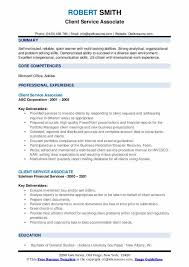Examples Of Problem Solving Skills In Customer Service Client Service Associate Resume Samples Qwikresume